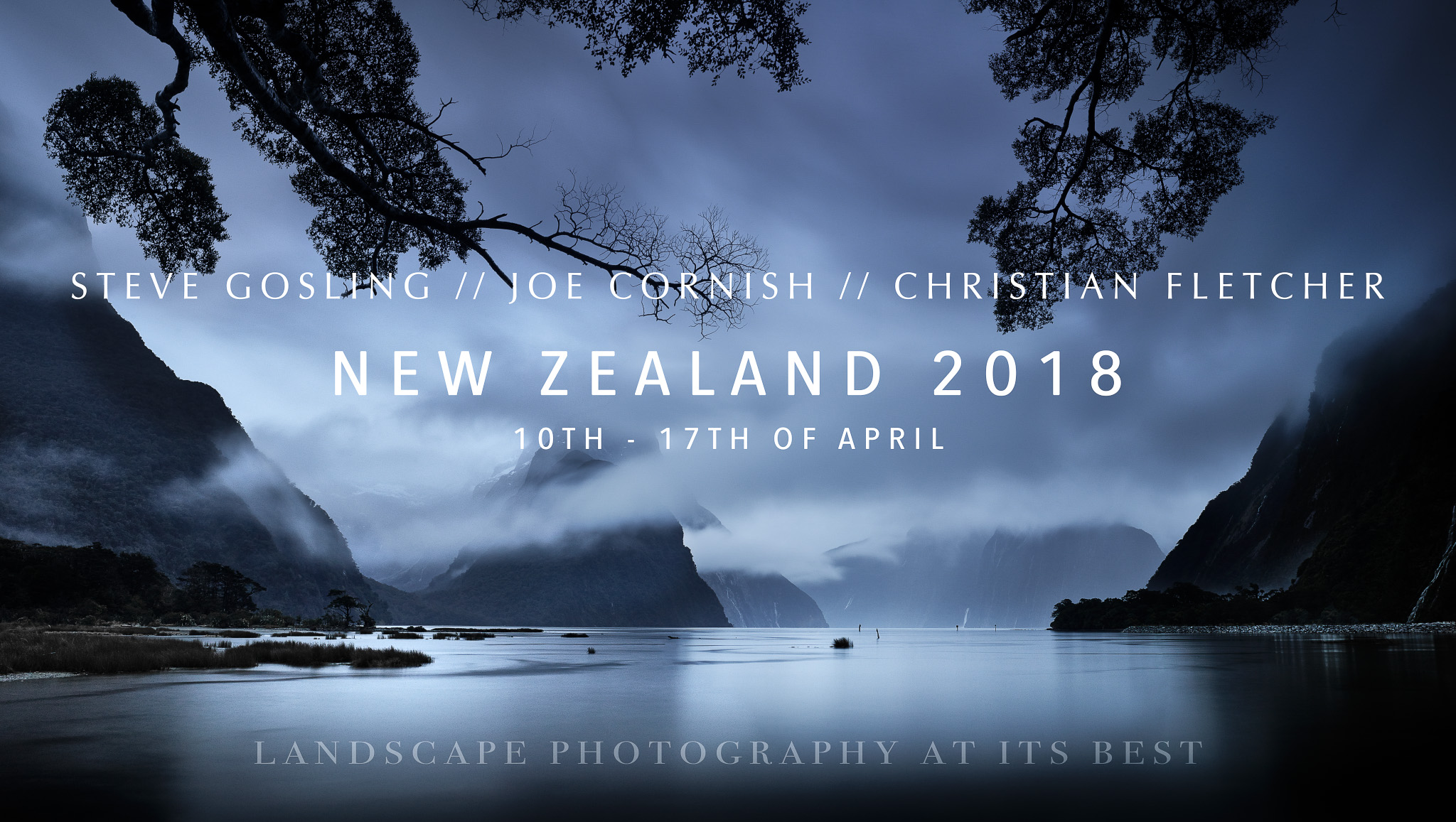 New Zealand 10 – 17 April 2018 – FULLY BOOKED